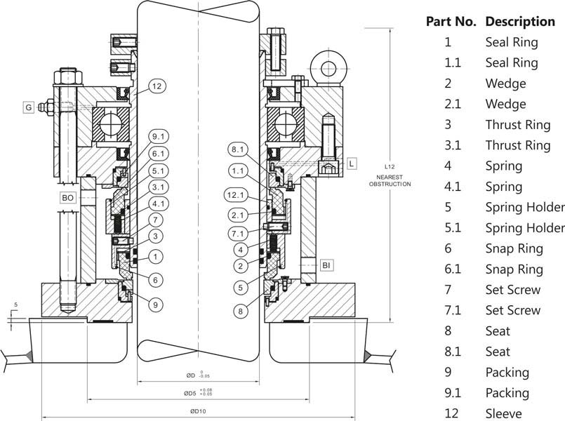 double seal for ss reactor and double mechanical seal for ... double valve diagram double seal diagram #11