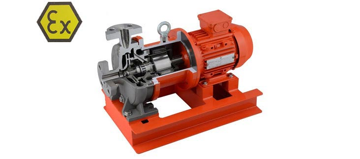 Magnetic Drive Pumps (ISO 2858)