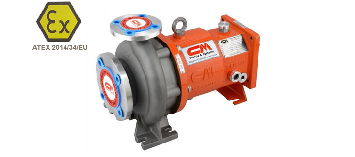 Magnetic Drive Pumps (Atex Approved)
