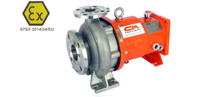 SS Magnetic Drive Chemical Process Pump