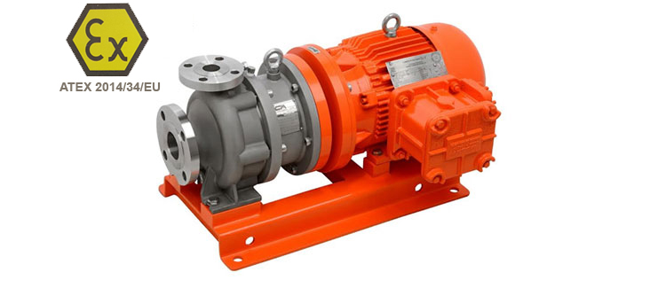 Standard Magnetic Drive Pumps (ISO 2858)